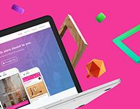 ShopPro - iOS Application & Landing page