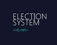 Election System Screenshots | VB Design and Development