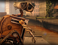 Wall-E Modeling&Animation