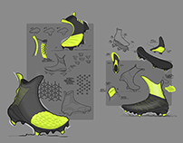 Football Boots Sketches