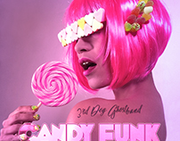 "Cover Art ""Candy Funk"" for 3rd Dog Ghostband"