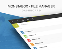 File Manager. Dashboard