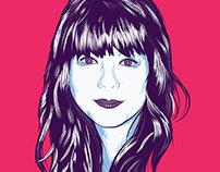Girl Vector Portrait