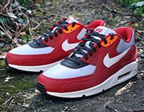 Nike Air Max 90 x 'Urawa' Custom