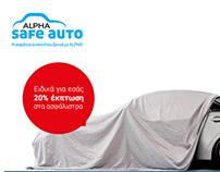 Alpha Bank Alpha Safe Auto online campaign