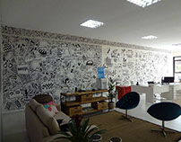 Mural / Escritório Le Fruit