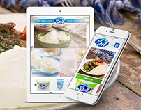 Spil Milk & Dairy Products Web Responsive Design