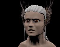 Elf me   3D head model