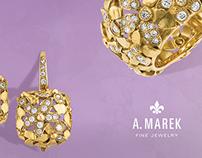 A Marek Fine Jewelry | Ad/Identity concepts