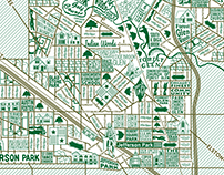 Forest Glen and Jefferson Park Map
