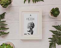Free Elegant Frame Mockup