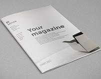 Simple Minimal Magazine