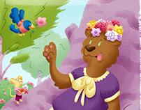 Brenda Bear's Flower