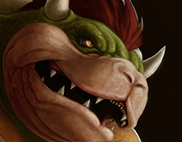 Bowser - Fan Art