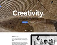 Grafik - Creative WordPress Theme by select-themes