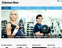 Fitness Line Joomla Template