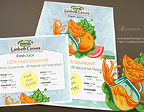 Print Entity Design for : Lambeth Groves, CA, USA