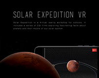 Solar Expedition VR Educational Workshop