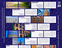 Free Printable Calendar for 2020