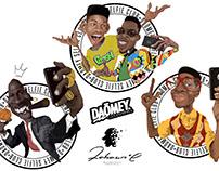 Illustrations Design for Daömey Clothing Brand