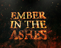 Ember in the Ashes - Title Design