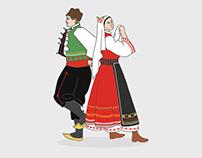 Bulgarian Traditional Dancers