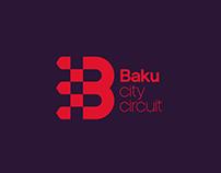 Baku City Circuit Brand Identity