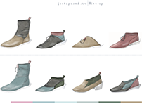 JUXTAPOSED // Androgynous Footwear Collection