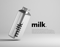 Milk packaging / branding