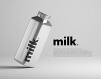 Milk packaging / branding