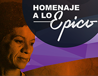 Artes para Homenaje a Juana Pavón en Café Paradiso