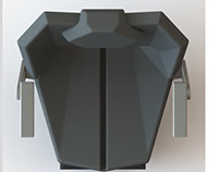 Design project of the operator's seat for agricultural