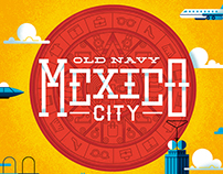 OLD NAVY - Mexico poster