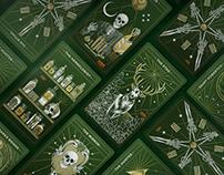 Jägermeister Tarot deck Illustrations