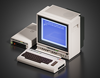 Voxel Commodore 64