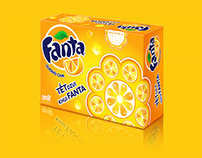 Fanta, Sprite | Packaging Tết 2016