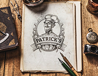 Branding for Patrick's pastry