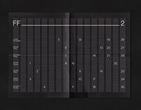 Interactive paper calendar 2018