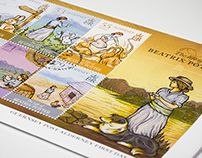 The life of Beatrix Potter - Stamp Collection