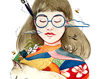 Classic Specs x Vivian Shih: Live Painting