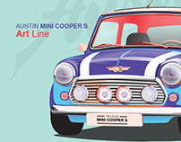 AUSTIN Mini Cooper S - Illustrations
