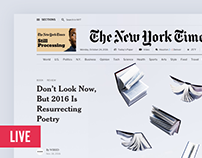 The New York Times Redesign