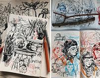 sketchbook 19/20