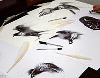 Ballpoint pen drawings007