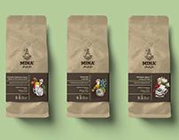 Cafe MINA' Branding