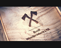 "Logo for ""Runiti  Woodproducts LTD."""