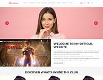 Website Layout - Dalton