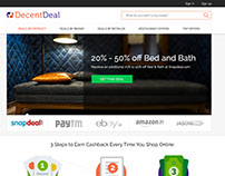 Decent Deal Website