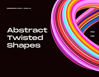 Abstract Twisted Shapes