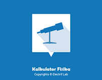 User Interface for Kalkulator Fisika